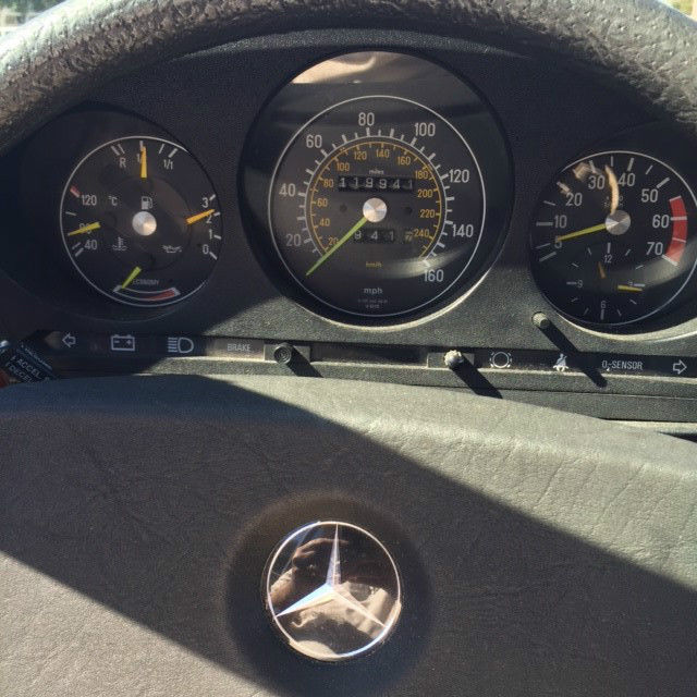 1984 mercedes benz 380sl hardtop and convertible stunning for Mercedes benz pensacola