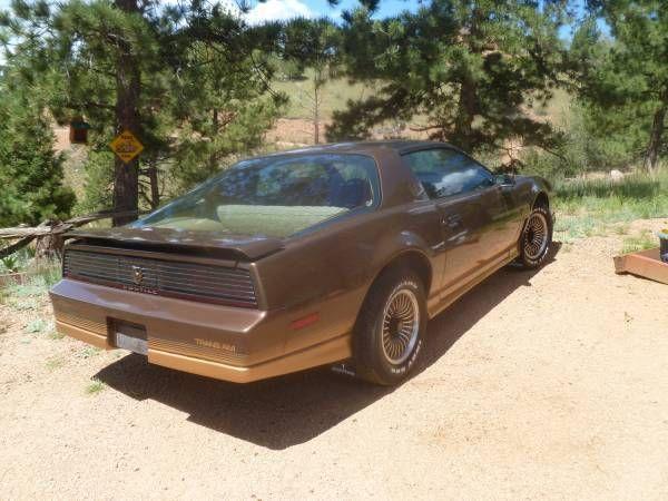 1984 pontiac firebird trans am coupe 2 door 5 0l one owner 100 original classicvehicleslist com