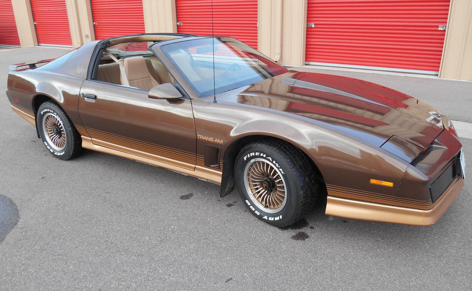 1984 Pontiac Firebird Trans Am Coupe 2-Door 5.0L One Owner ...