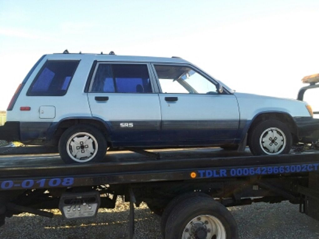 Free Vehicle History Report By Vin >> 1984 Toyota Tercel 4X4 SR5 Wagon