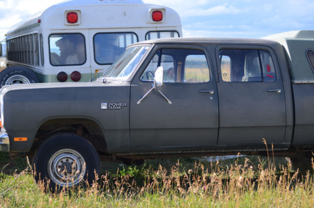 1985 1 ton 4x4 dodge crew cab truck. Black Bedroom Furniture Sets. Home Design Ideas