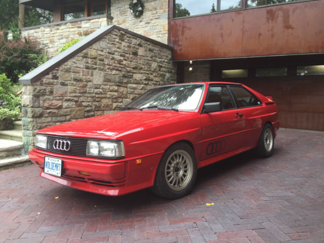 Audi quattro for sale 1985 14