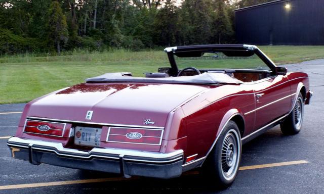 1985 buick riviera convertible rare tubocharged