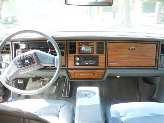 1985 Cadillac Seville Elegante 21k Original California Miles