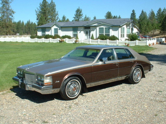 1985 Cadillac Seville Elegante Low Miles Loaded With Options