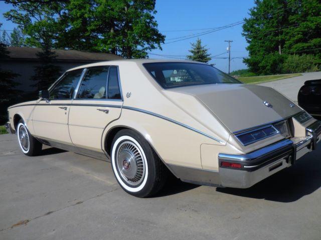 1985 Cadillac Seville Elegante Sedan 4 Door 4 1l Rust Free Florida