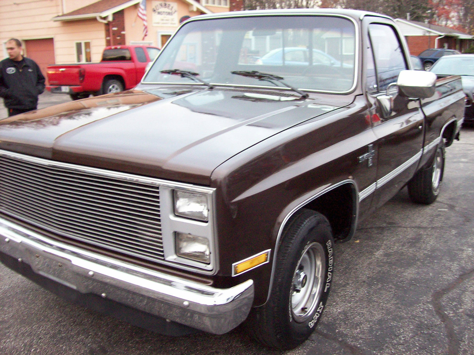 1985 chevrolet c10 silverado standard cab pickup 2 door 5 7l. Black Bedroom Furniture Sets. Home Design Ideas