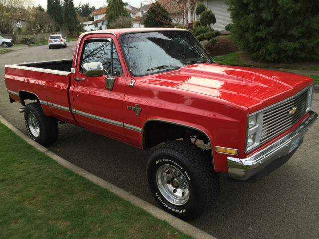 1985 Chevrolet K20 4x4 Lifted Show Truck Over $20k in ...