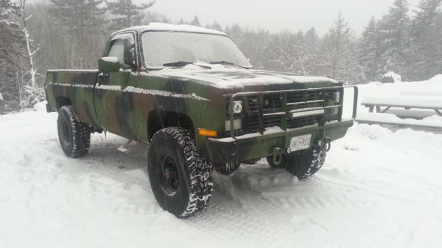Chevy Diesel Military Trucks For Sale