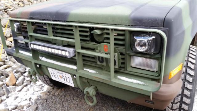 Cars Under $800 >> 1985 Chevrolet K30 3500 4x4 M1028 CUCV Military truck 6.2 ...