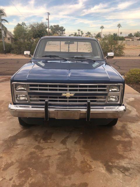 1985 Chevrolet Silverado 1500 4x4 Pickup