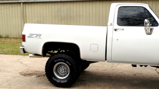 1985 CHEVY 4X4 TRUCK FRAME OFF 454 BIG BLOCK 35\'S 6\
