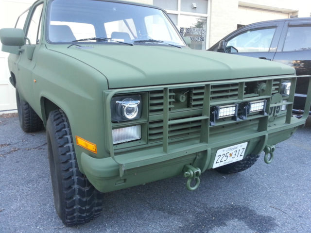 Chevy K Blazer Cucv M Military With Hho Hydrogen Injection Kit on Military Humvee Batteries