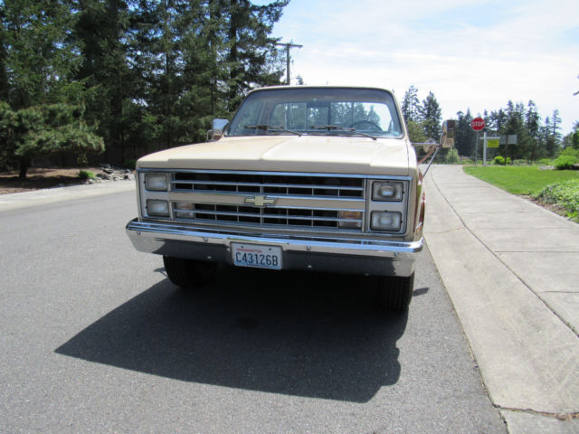 1985 Chevy Pickup 2500 454 Auto RUST FREE LOW MILES NO
