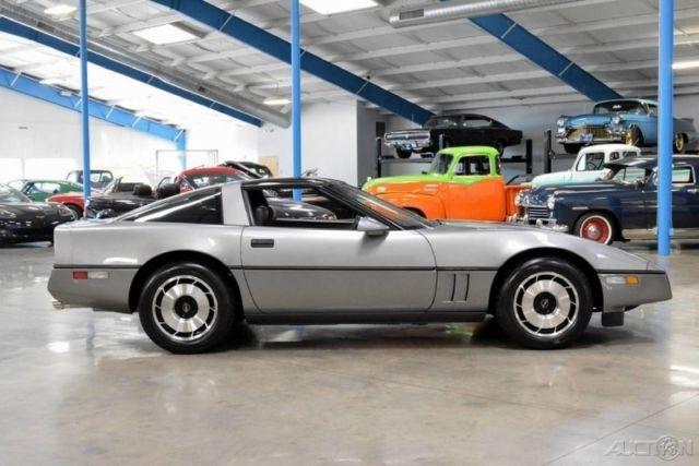 1985 corvette z51 5 7l v8 4 speed manual transmission transparent rh classicvehicleslist com 85 corvette manual transmission 86 Corvette