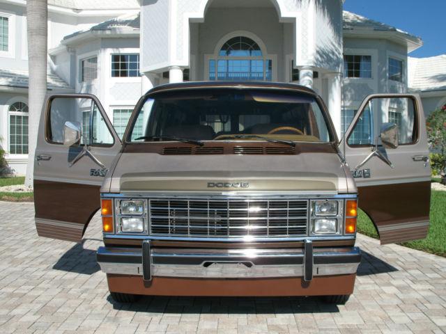 Dodge Ram B Van Owner Very Low Miles V At Ac Full Power Immaculate on 1985 Dodge Van