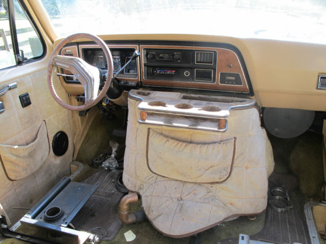 1985 Ford E350 Centurion Van Truck Cummins Conversion Gear Vendors Overdrive