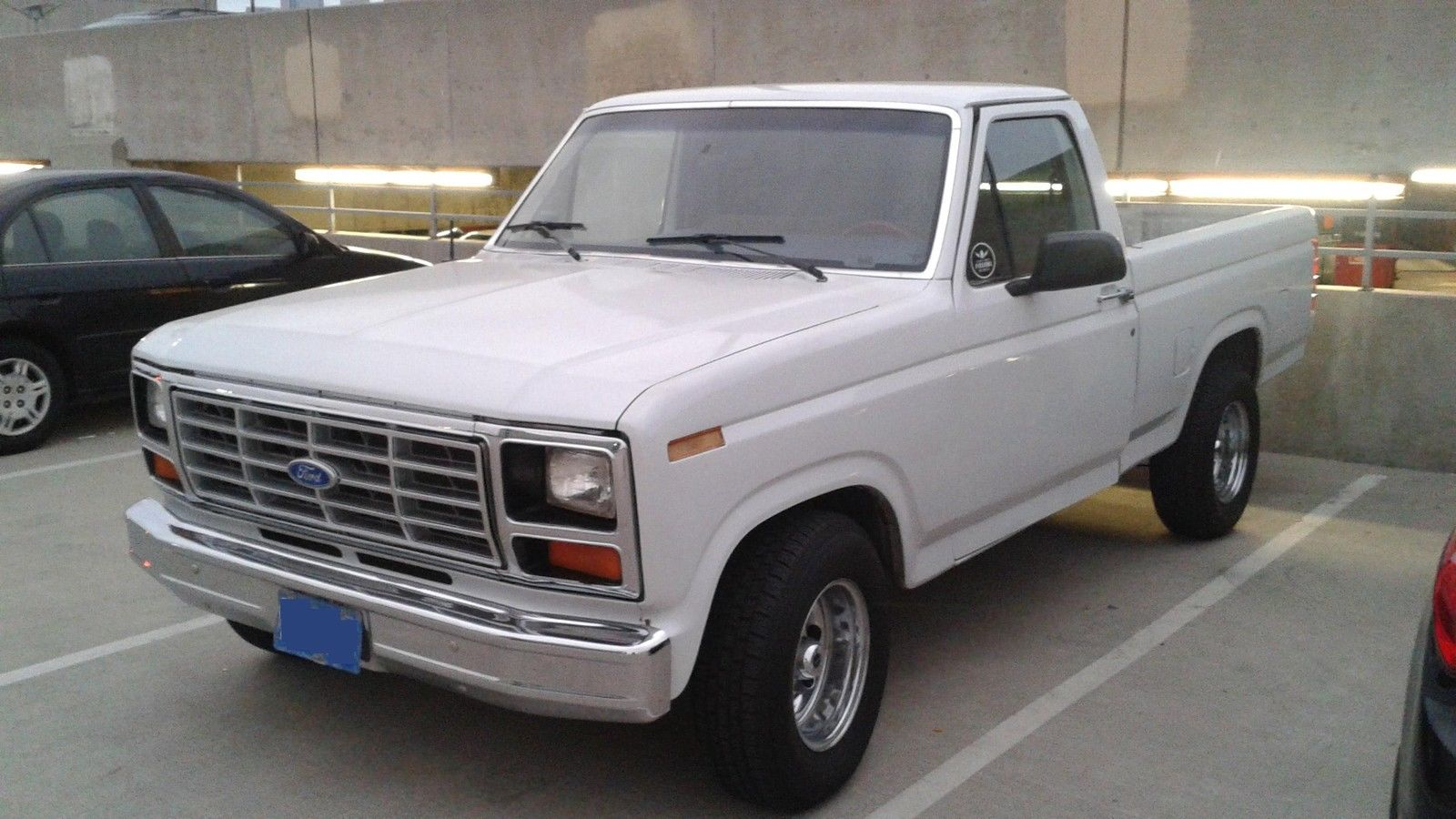 1985 ford f150 single cab short bed