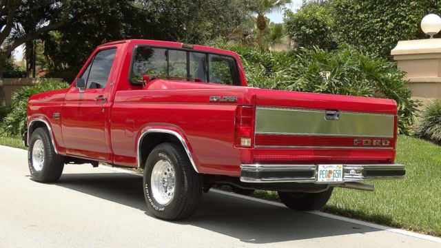 Ford Hot Rod also Ford F Wd Interior View also Ford F King Ranch Pic besides Ford Xl Lariat Explorer F With One Owner Miles Like New Must See moreover F Ford F. on 1985 ford f 150