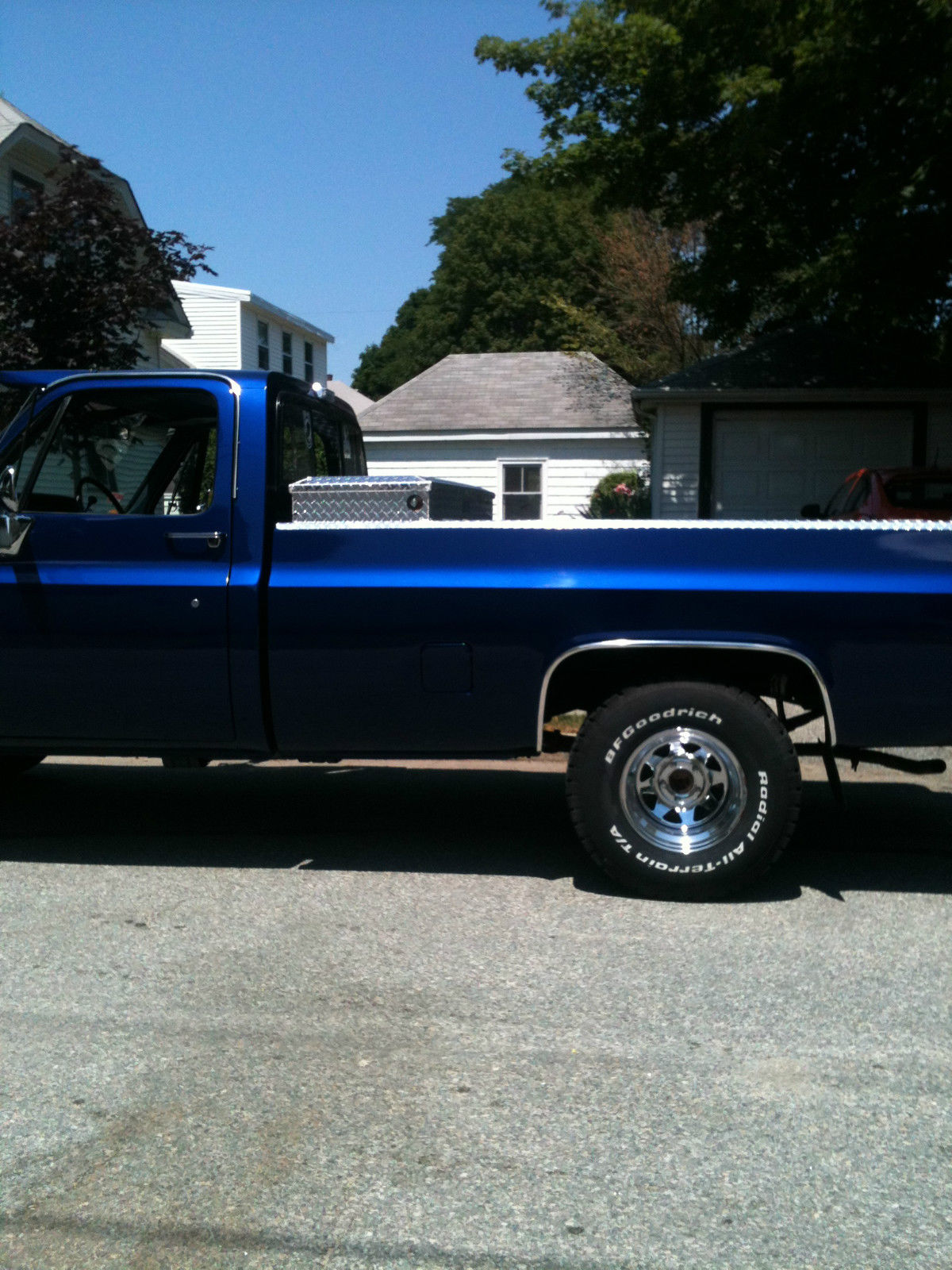 1985 GMC Sierra Classic RUST FREE with a 1987 chevy 305 HO ...