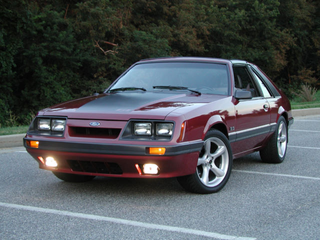 1985 Gt Mustang T Top