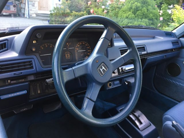 1985 Honda Accord S 2 Door Hatchback