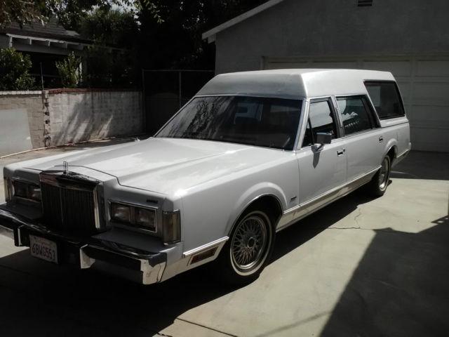 1985 Lincoln Town Car Hearse