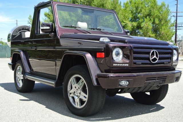 1985 mercedes g wagon convertible g 280 cabrio for Mercedes benz g class cabriolet for sale