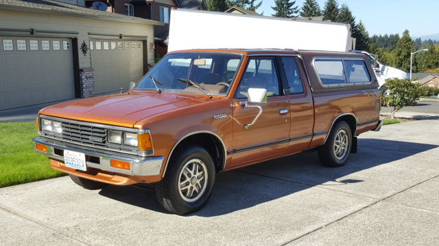 1985 Nissan 720  U0026quot St U0026quot  Sport Truck King Cab Pick Up W  Only