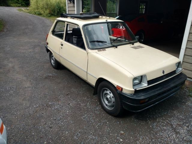 1985 renault 5 gtl convertible le car in very good condition drives nice. Black Bedroom Furniture Sets. Home Design Ideas