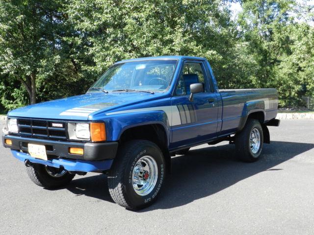 1985 toyota sr5 pickup truck 39 4 cyl turbo diesel 2l t 39 4x4 5 speed straight axle. Black Bedroom Furniture Sets. Home Design Ideas
