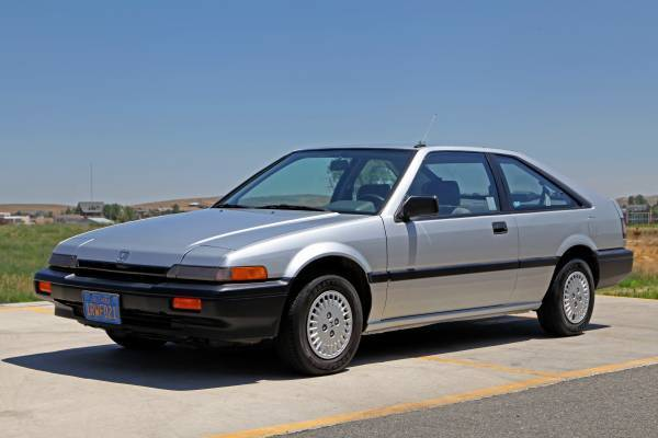 1986 honda accord lxi manual 4 cylinder no reserve for sale.