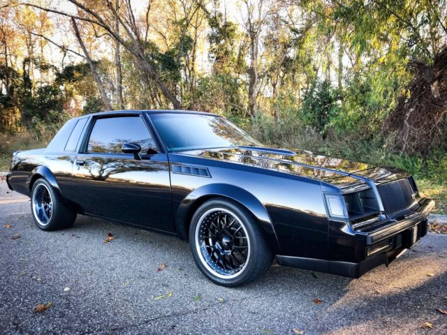 1986 buick regal grand national gnx turbo t type 1987. Black Bedroom Furniture Sets. Home Design Ideas