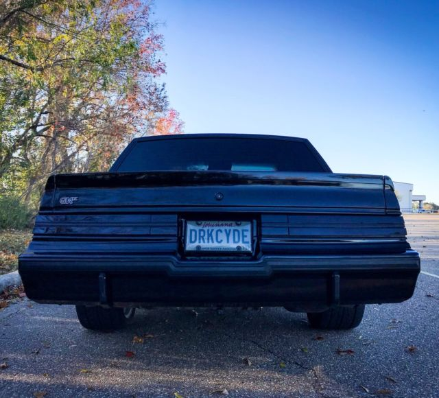 Buick Regal T Type For Sale: 1986 Buick Regal Grand National GNX Turbo T Type 1987