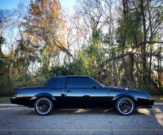 1986 Buick Regal Grand National GNX Turbo T Type 1987