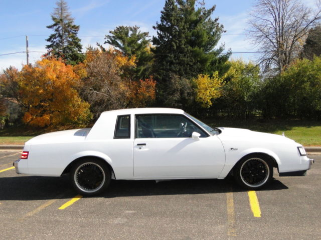 1986 buick regal t type ttype grand national gn gnx for sale in saint paul minnesota united states. Black Bedroom Furniture Sets. Home Design Ideas