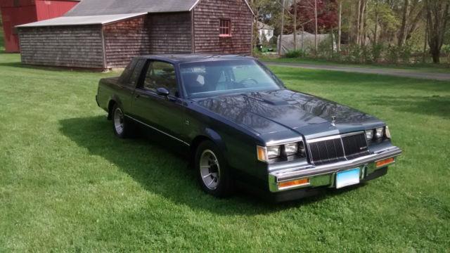Buick Regal T Type >> 1986 BuIck Regal T-Type Turbo