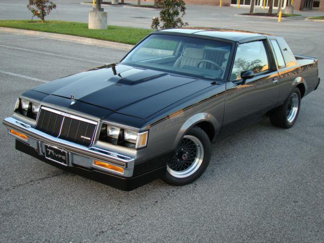 1986 Buick Regal T Type Wh1 48k Miles 1 Of 463 Designer