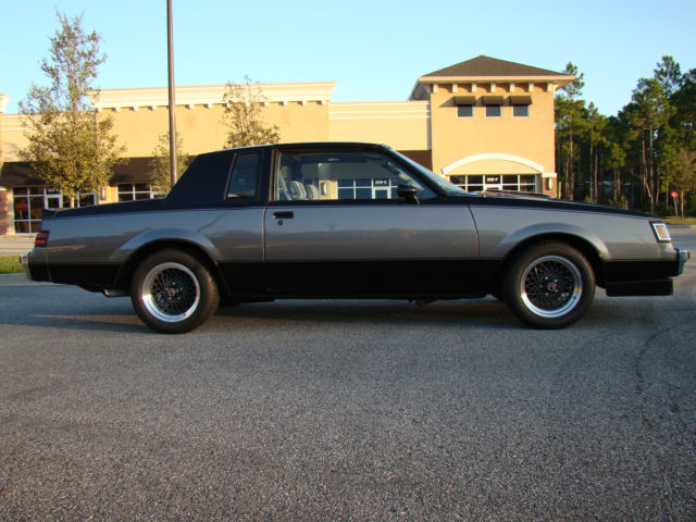 1986 buick regal t type wh1 48k miles 1 of 463 designer series cars. Black Bedroom Furniture Sets. Home Design Ideas