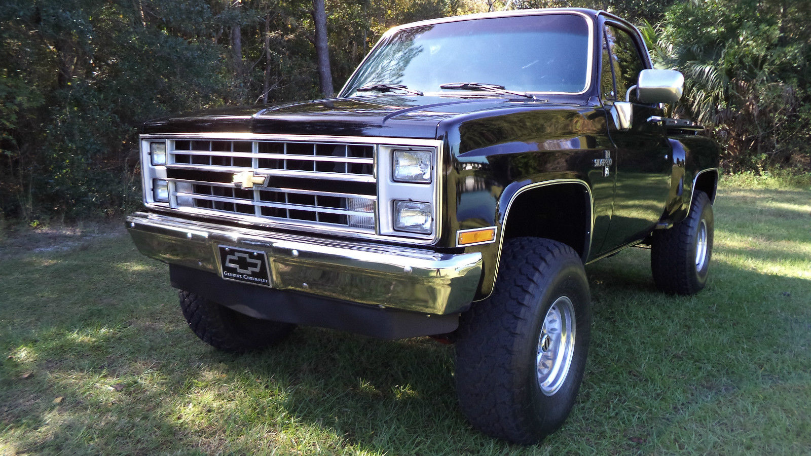 1986 chevrolet c k 1500 silverado 4x4 short bed step side pickup 87000 miles. Black Bedroom Furniture Sets. Home Design Ideas