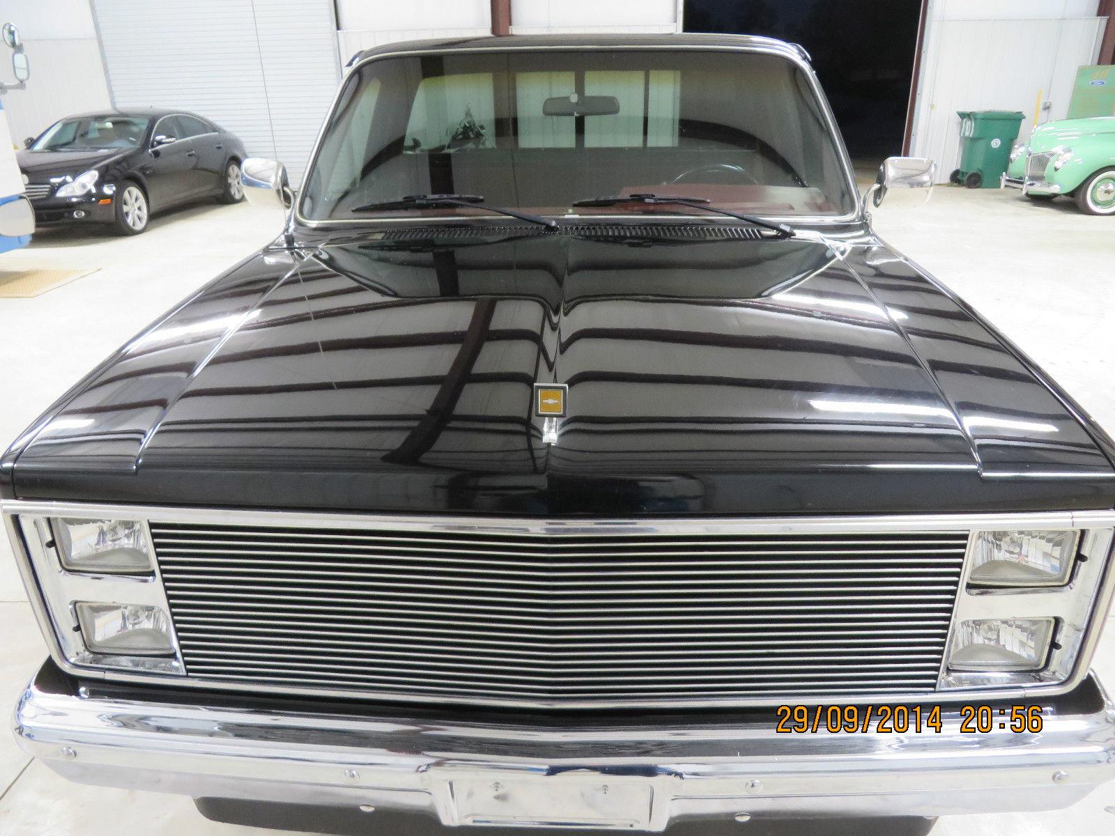 Custom Truck Headlights >> 1986 CHEVROLET SILVERADO SHORT BED 1500 C10 CHEVY TRUCK ...