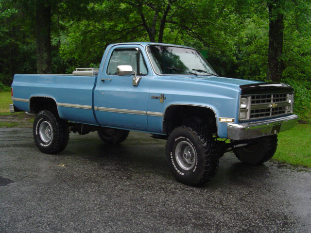 Chevy K20 For Sale >> 1986 Chevy Scottsdale K10 4X4 Long Bed