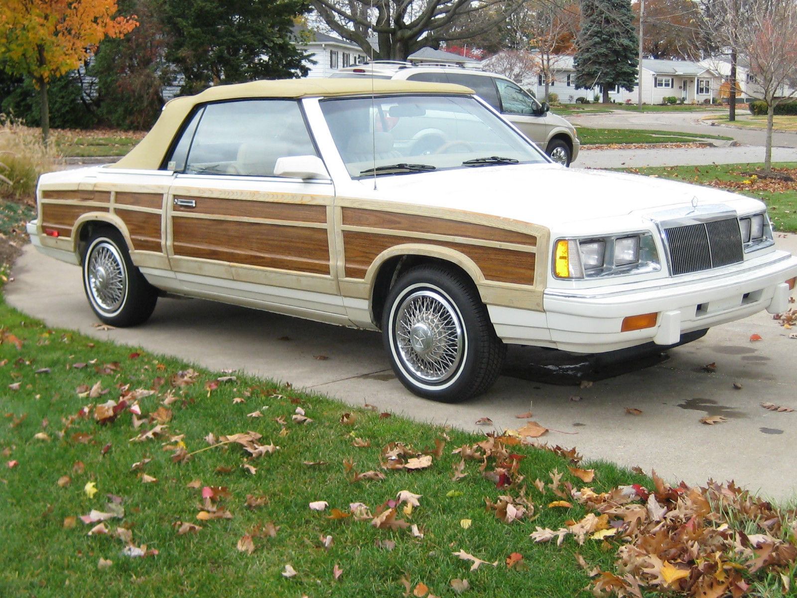 1986 Chrysler LeBaron Town and Country convertible 1986 Chrysler Lebaron Town And Country