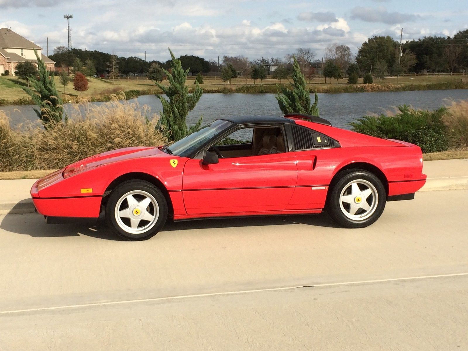 1986 Ferrari 328 Gts Replica On Pontiac Fiero Se Chasis 2 8v6