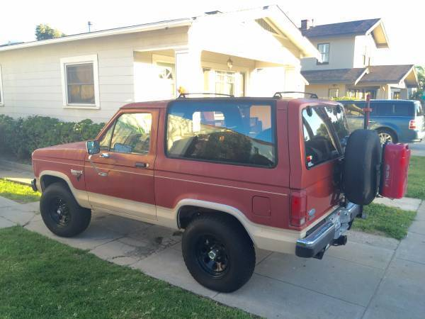 1986 ford bronco ii eddie bauer edition 97k mi. Black Bedroom Furniture Sets. Home Design Ideas
