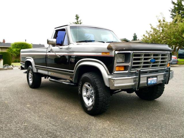 1986 ford f 250 xlt 6 9 turbo diesel 119k all original lariat 4x4. Black Bedroom Furniture Sets. Home Design Ideas