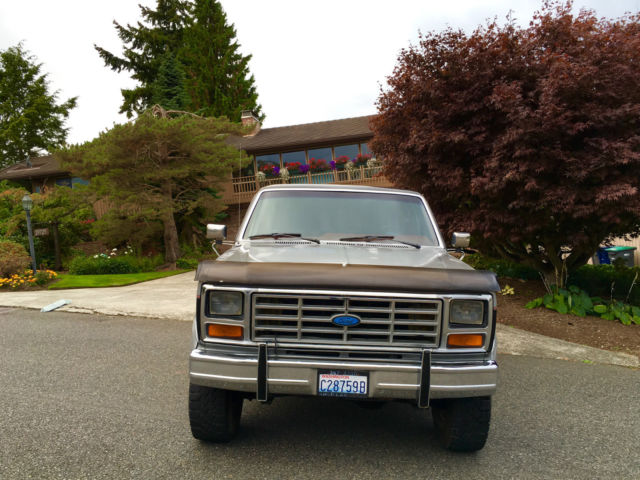Ford F Xlt Turbo Diesel K All Original Lariat X