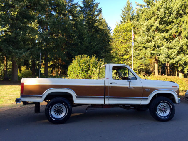 Used Cars Portland >> 1986 FORD F-250 XLT LARIAT 4X4 LOADED WITH LOW MILES AND AWESOME SHAPE for sale in PORTLAND ...