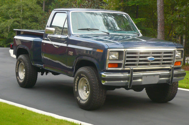 Ford F Xl Flareside X Rare Model Rust Free Southern Truck