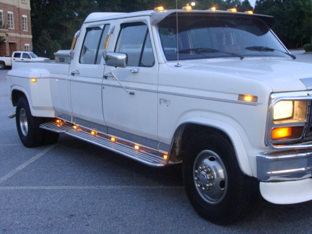 Ford F350 6 Door >> 1986 FORD F350 4DR DIESEL DUALLY TRUCK 6.9 TURBO DIESEL TRUCK W/NEW TIRES